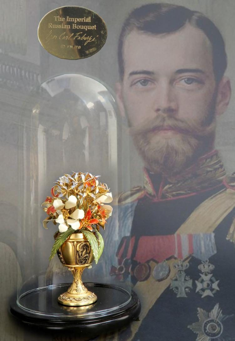 The Imperial Russian Bouquet Carl Faberge