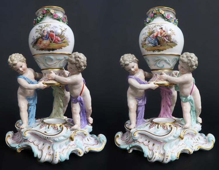 19th C. Pair of