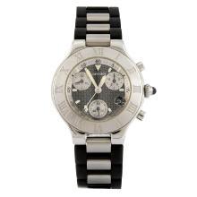 Cartier Must 21 Chronoscaph bracelet Wristwatch