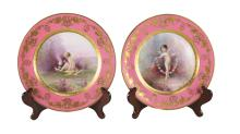 Lenox for Tiffany & Co. Porcelain Cabinet Plates