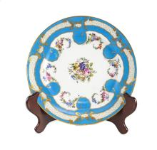 18th Century Sevres Porcelain Cabinet Plate