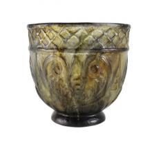 G. Argy Rousseau Pate De Verre Glass Vase