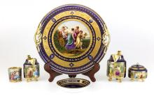 Royal Vienna Porcelain Tea Service Set