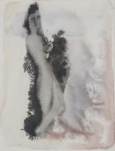 Max Ernst (German, 1871-1976) Watercolor on paper