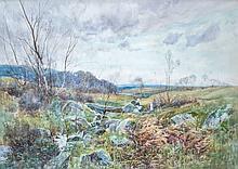 Henry Charles Fox (British, 1855-1922) Watercolor