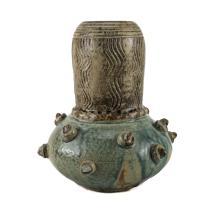 Modern Ceramic Gourd Form Vase