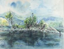 George Grosz (American, 1893-1959) Watercolor