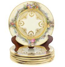 Group of Royal Berlin KPM Dinner Plates
