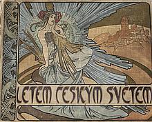 Alphonse Mucha (Czech, 1860-1939) Book Cover