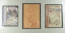 Alphonse Mucha (Czech, 1860-1939) Magazine Covers