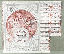 Alphonse Mucha (Czech, 1860-1939) Print