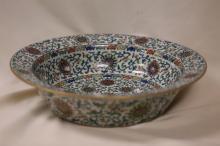 A Magnificent Doucai Porcelain Dish