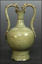 A Rare Longquan Celedon Vase