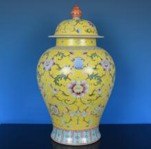An Excellent Famille Rose Porcelain Vase