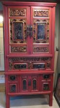 Chinese Straights Wedding Cabinet