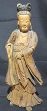 Chinese Carved Wooden Statue