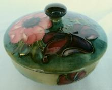 William Moorcroft Floral Covered Dish
