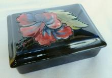 William Moorcroft Floral Covered Box