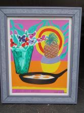 Jonathan Routh (1927-2008) Matisse Acrylic on Board