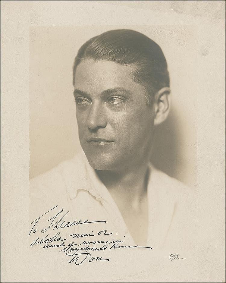 Autograph -  Don Blanding
