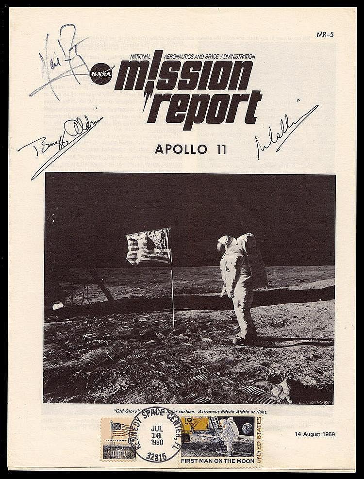 Autograph: Apollo 11