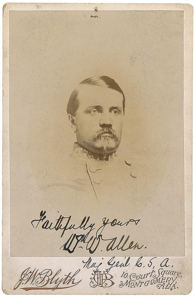 Autograph - William W. Allen