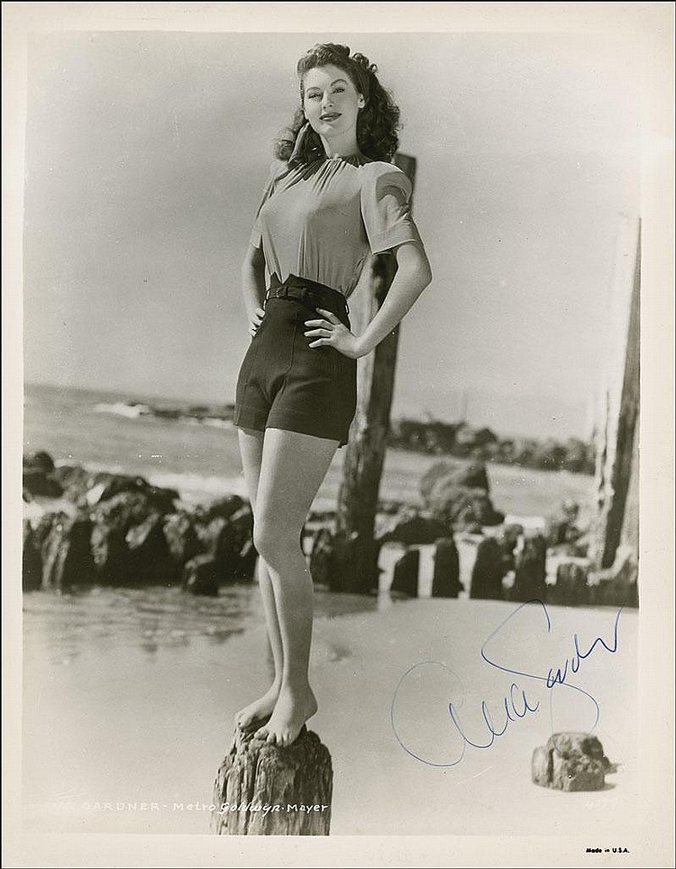 [ Autographs ]   Ava Gardner