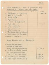 Wernher von Braun Handwritten Manuscript