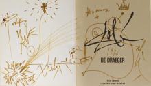 Salvador Dali Signed Book