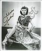 Autographs - Ava Gardner, Ava Gardner, Click for value