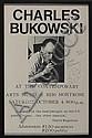 Autograph: Charles Bukowski, Charles Bukowski, Click for value