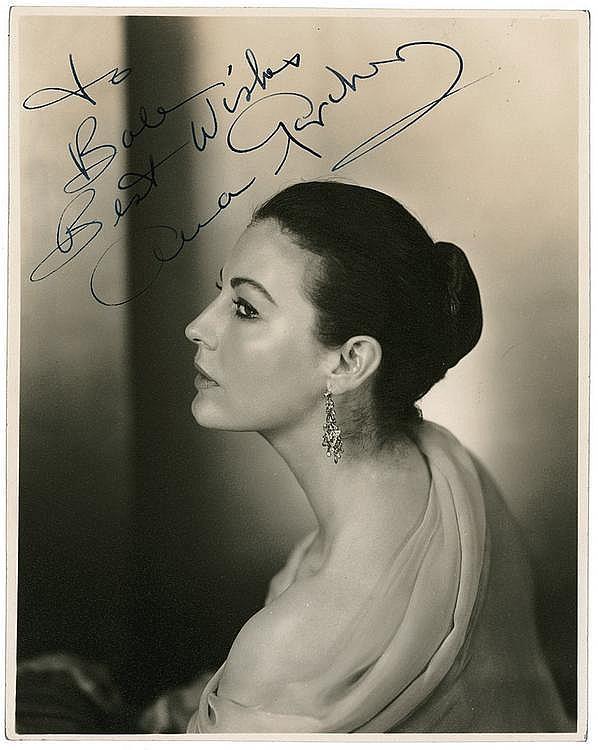 Autograph: Ava Gardner