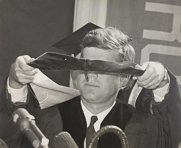 John F. Kennedy 1961 UNC Photograph