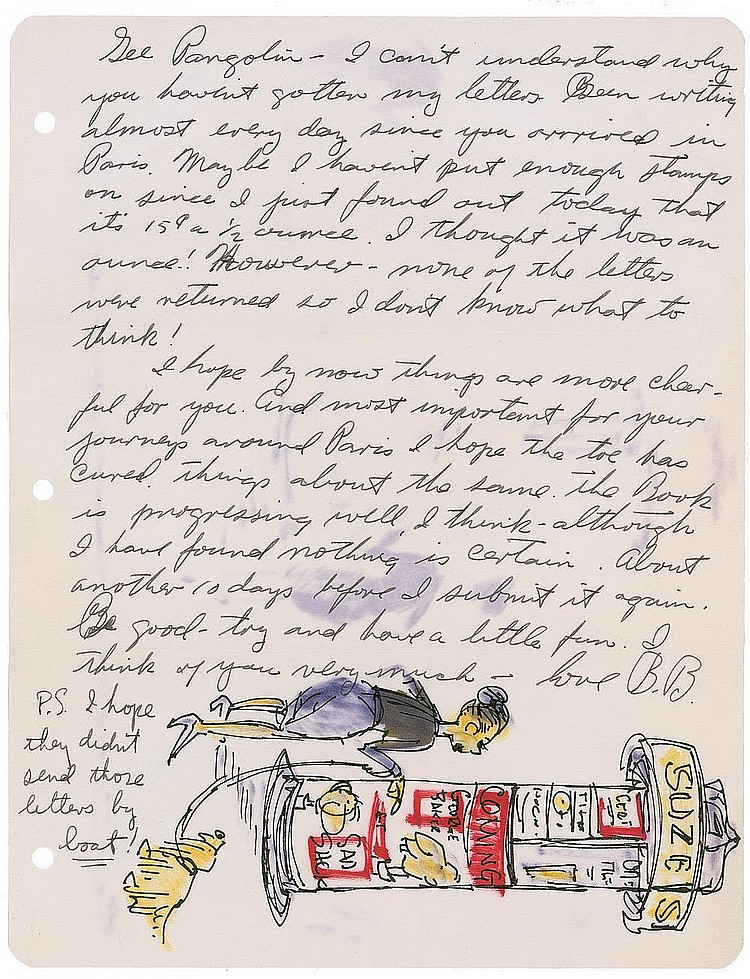 Autograph -  George Baker