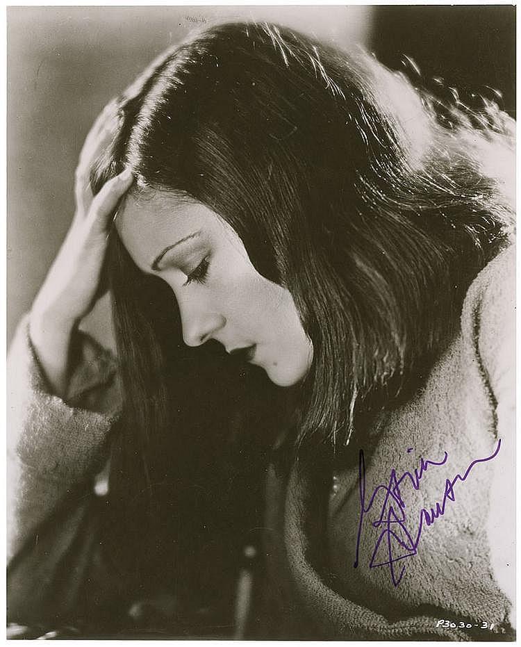 Autograph: Gloria Swanson