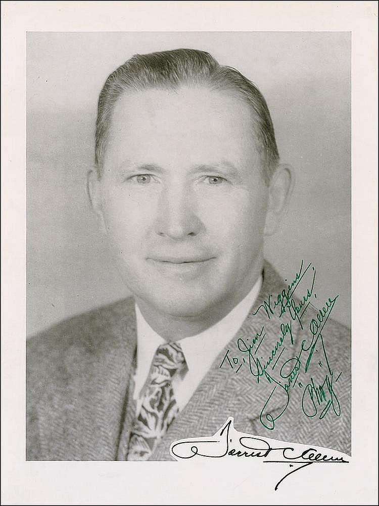 Rr Autograph Auctions Consignment Agreement: Autograph: Forrest 'Phog' Allen