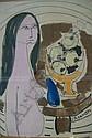 GASSNER, CHARLES (CAREL ANTOON) (1915-1977) NUDE, Carel Antoon Gassner, Click for value