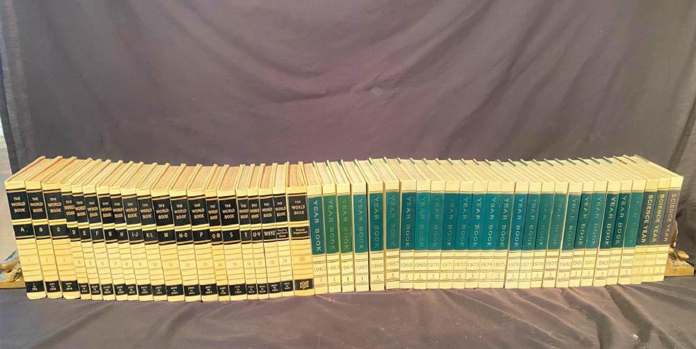 THE WORLD BOOK ENCYCLOPEDIA SET – 47 VOLUME SET - 1958