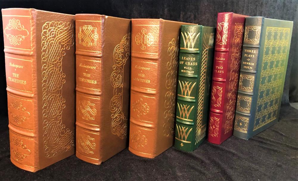 PLAYS AND POETRY - EASTON PRESS 100 GREATEST BOOKS EVER WRITTEN - 12 VOLUMES