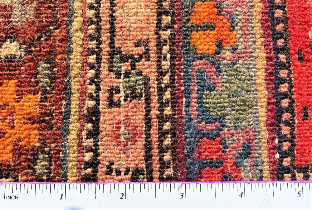 VINTAGE PERSIAN MALAYER HAND KNOTTED RUNNER - 5.9 x 15.10