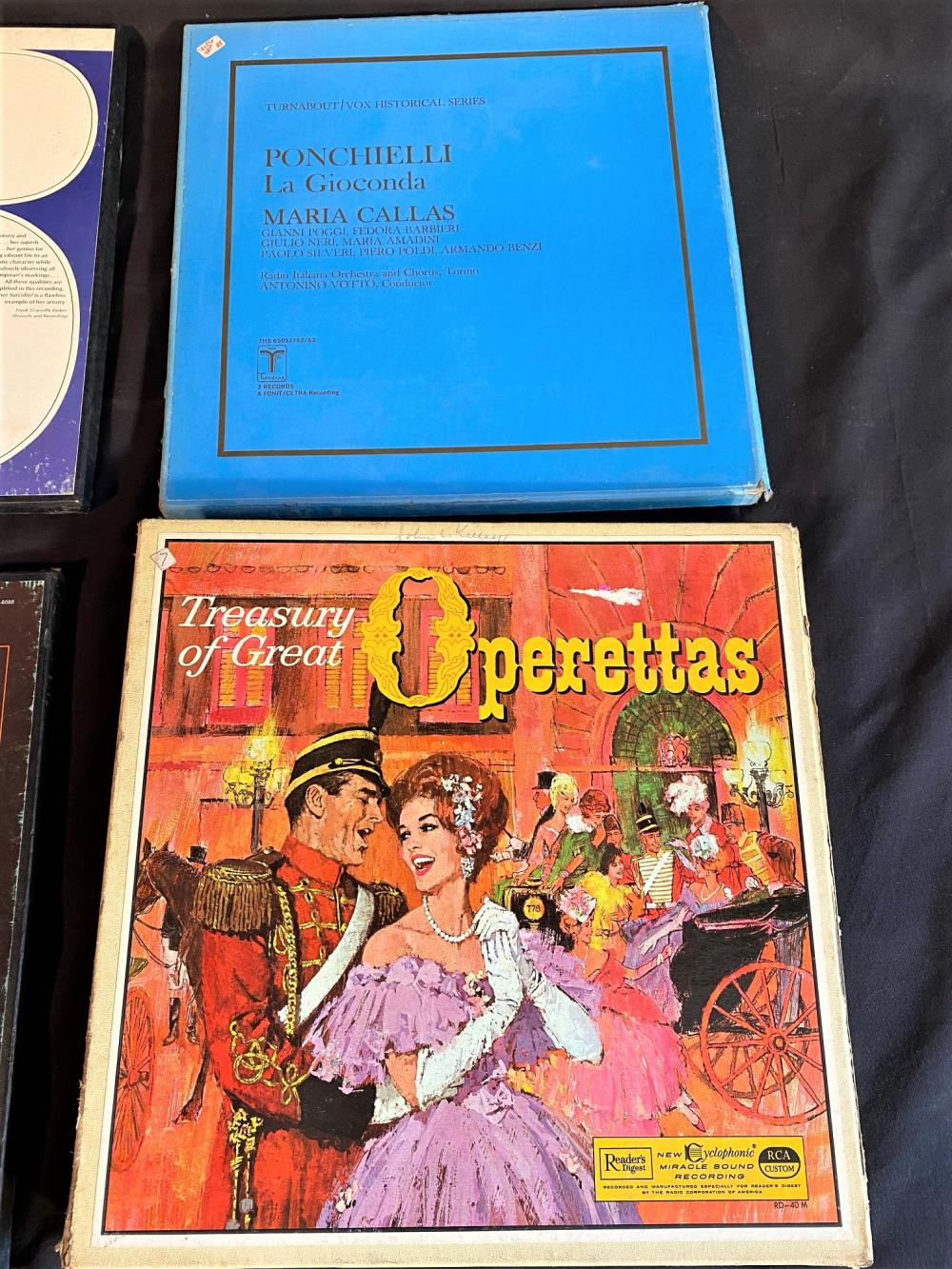 OPERA VINYL RECORD COLLECTION - 10 BOX SETS
