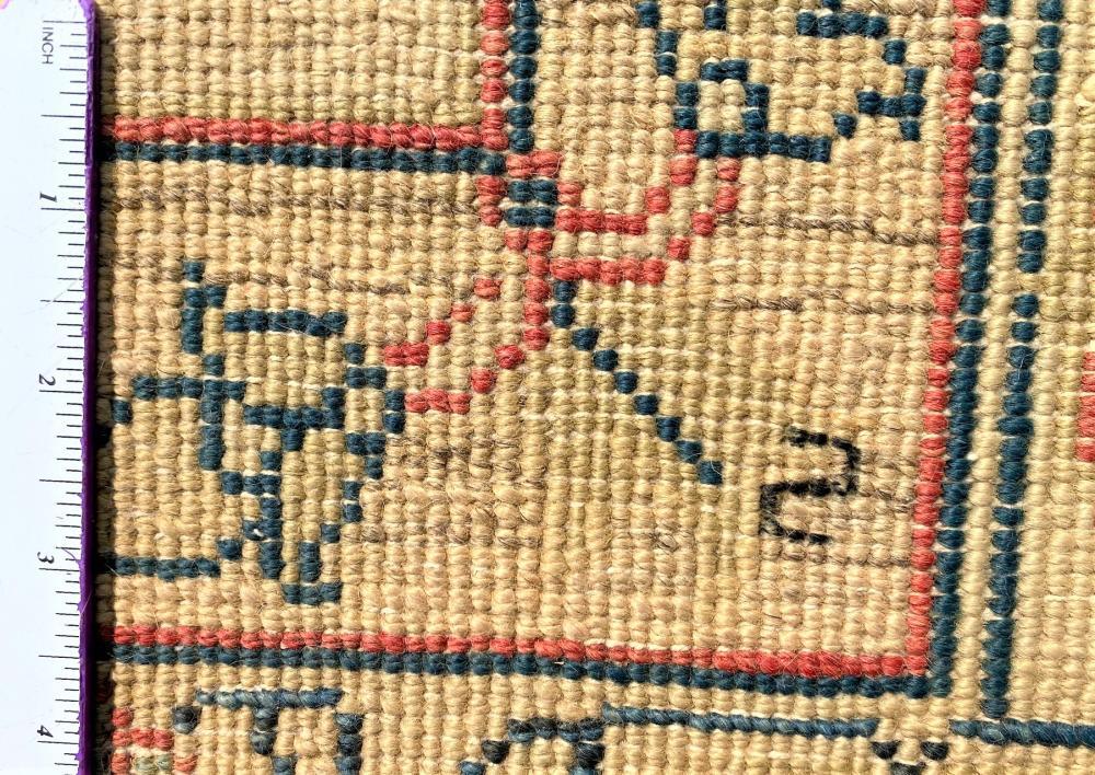 ANATOLIAN OUSHAK HAND KNOTTED RUG - 8.10 x 12.3