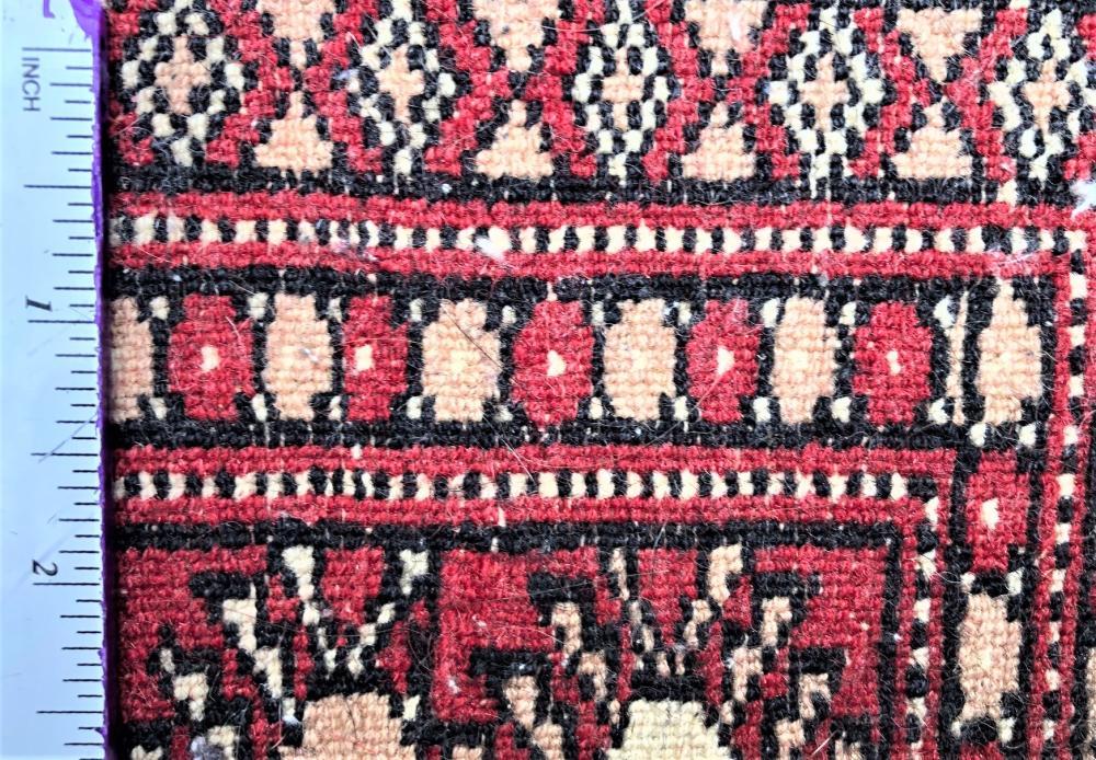 PERSIAN BUKHARA TEKKE HAND KNOTTED RUG - 4.2 x 6.3