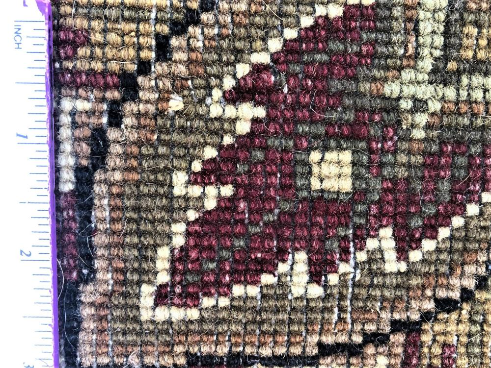 AGRA HAND KNOTTED RUG - 9.0 x 12.0