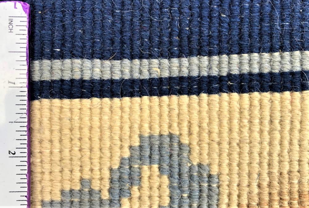 ART NOUVEAU ORIENTAL HAND KNOTTED AUBUSSON - 5.7 x 9.0