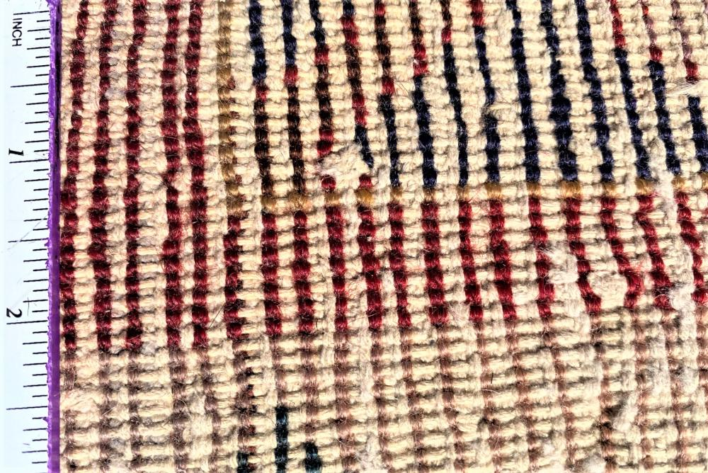 PERSIAN BAKHTIARI HAND KNOTTED RUG - 6.10 x 10.3