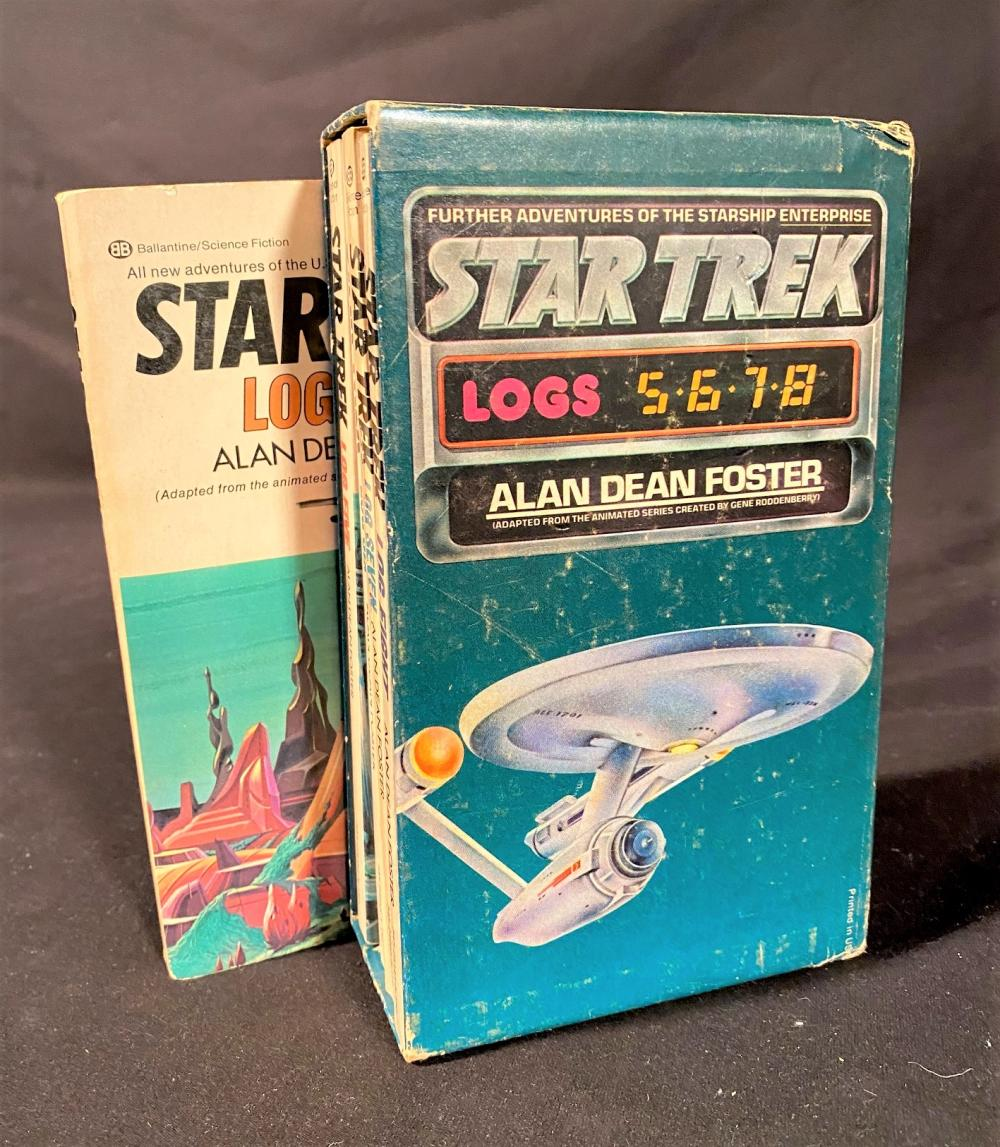 STAR TREK BOOK SET - 205 VOLUMES