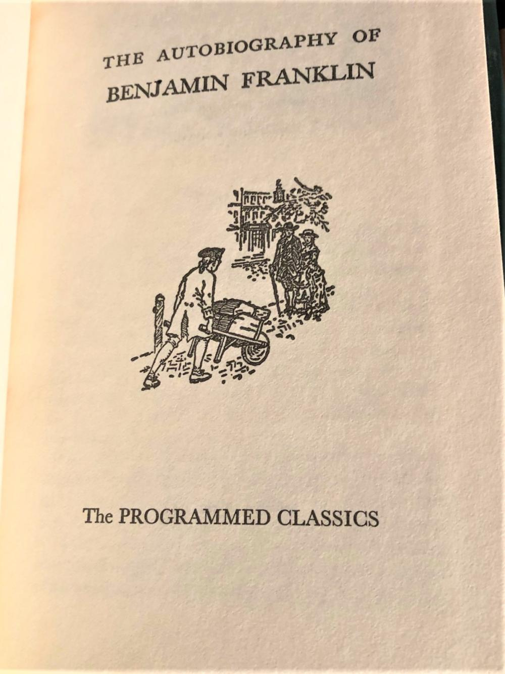 THE PROGRAMMED CLASSICS BY HOUGHTON MIFFLIN AND COMPANY - 16 VOLUMES, 1923