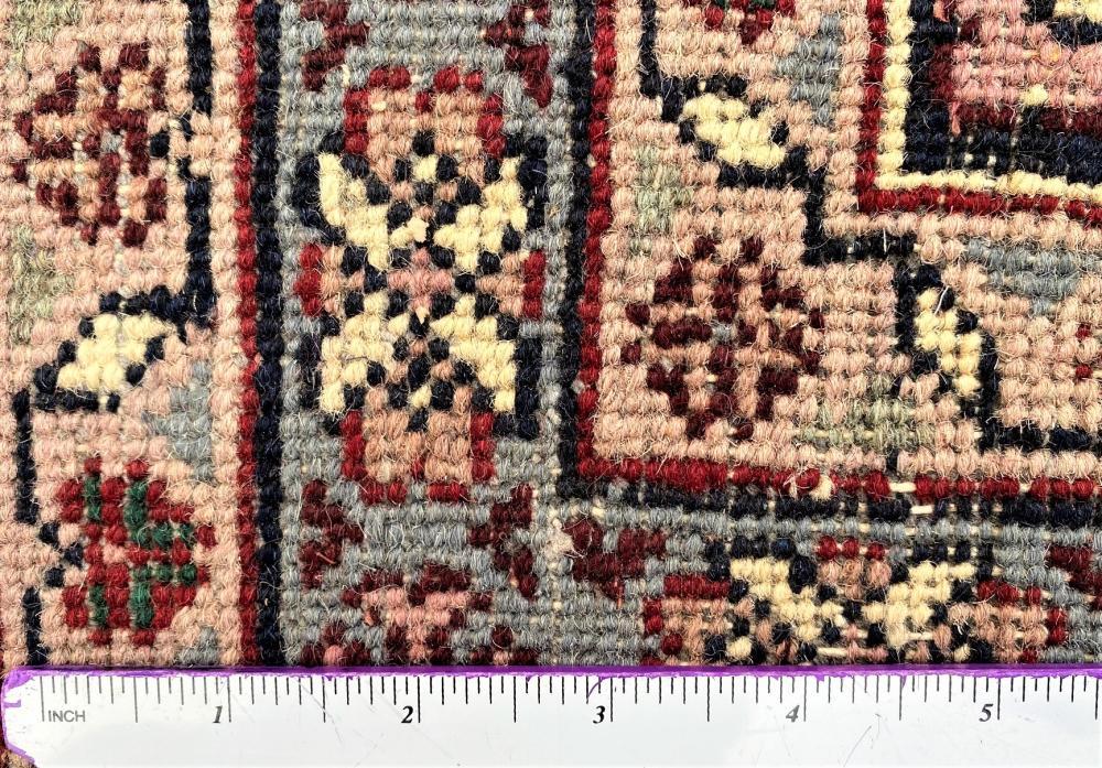 PERSIAN BIDJAR HAND KNOTTED RUG - 8.10 x 12.3