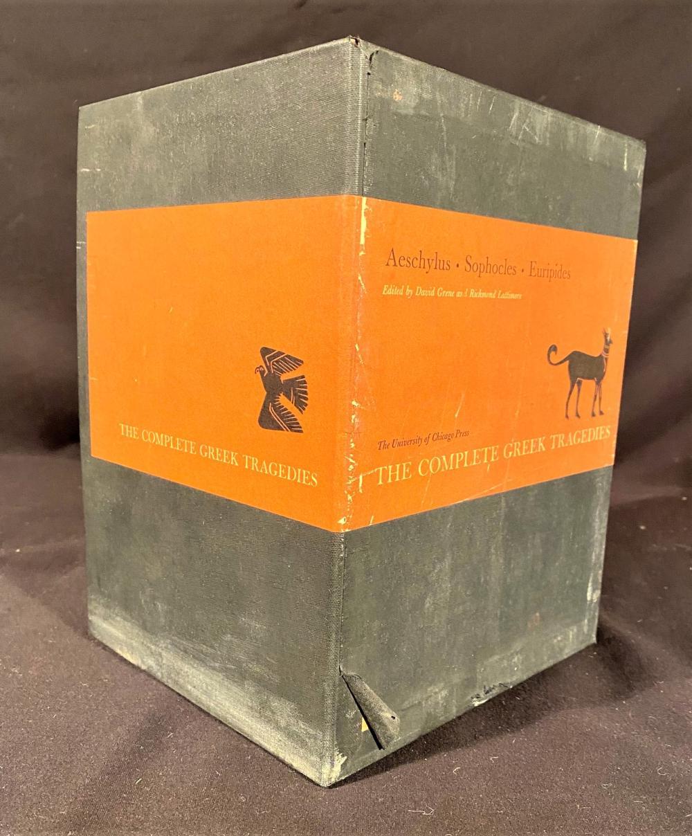 THE COMPLETE GREEK TRAGEDIES - 4 VOLUME BOX SET - 1959